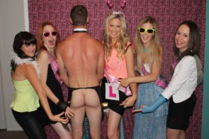 best hen party cottage weekend butlers in the buff